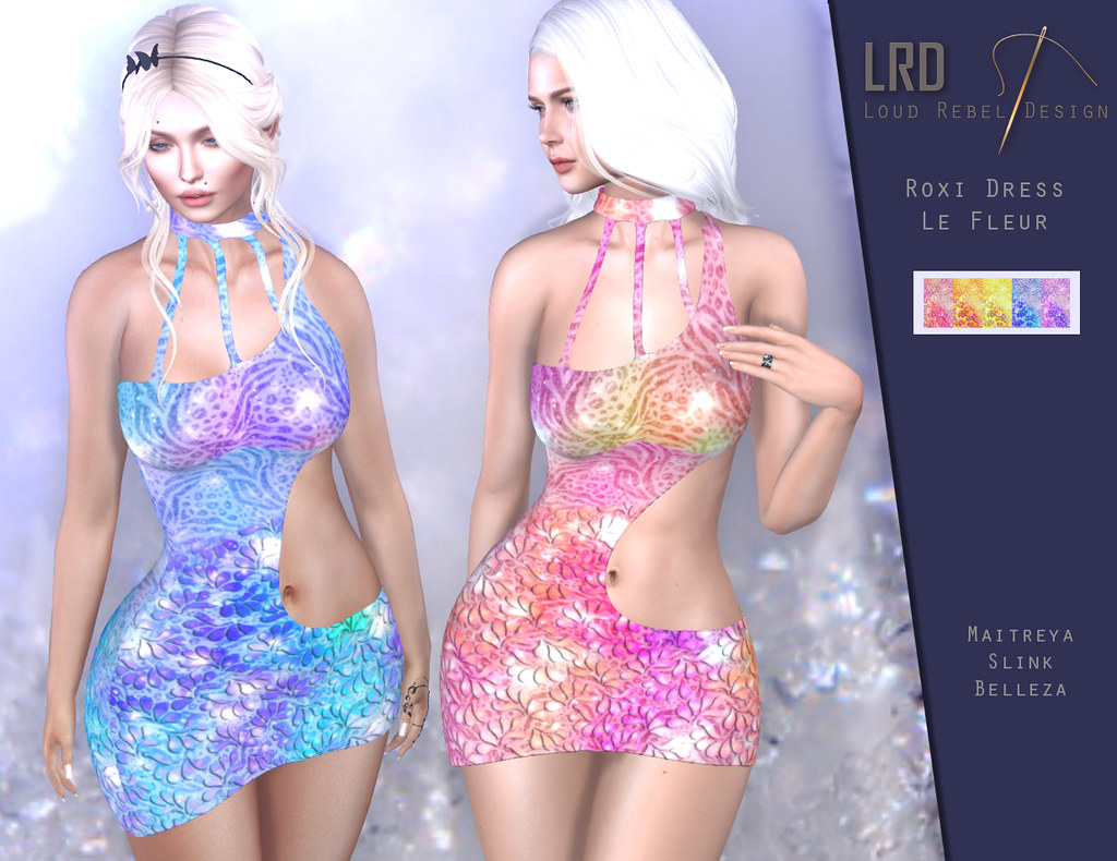 LRD Roxi dress Le Fleur