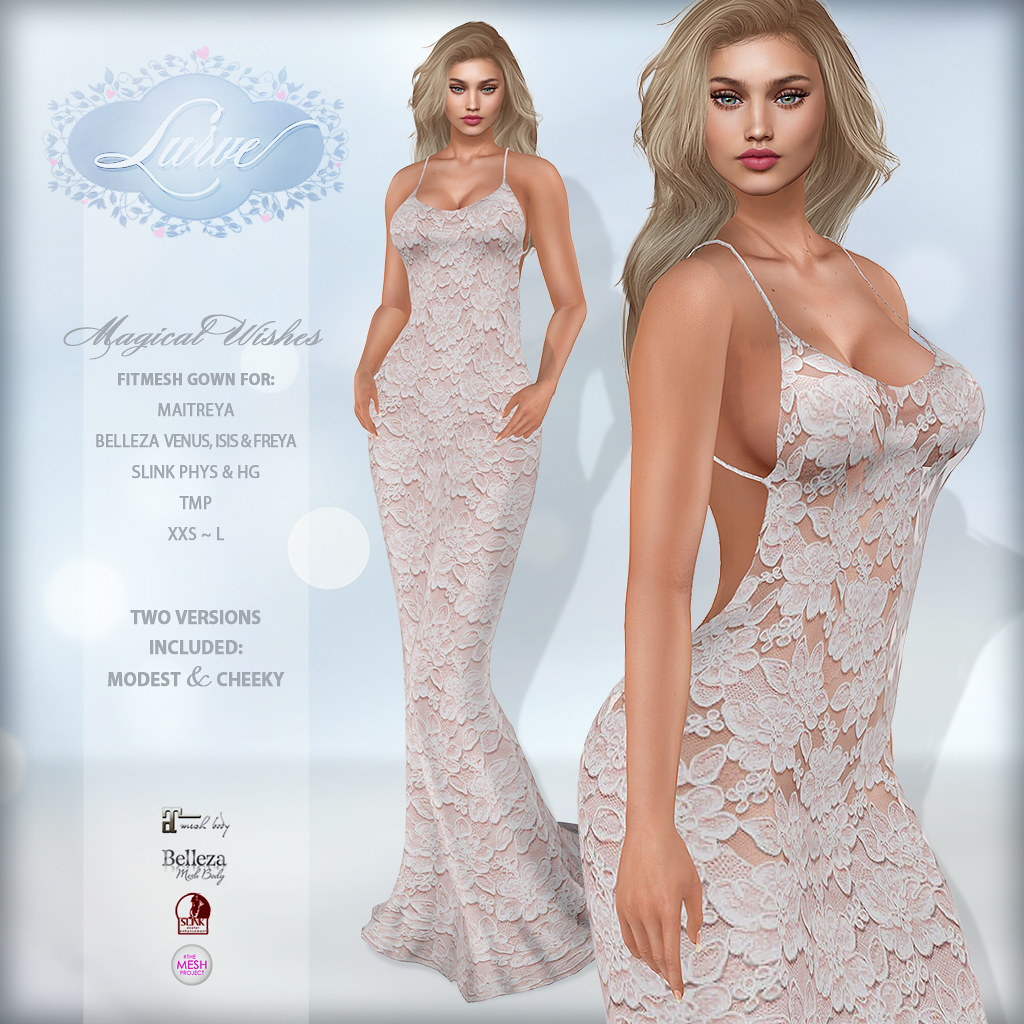 *Lurve* Magical Wishes Formal in Blush - TeleportHub.com Live!