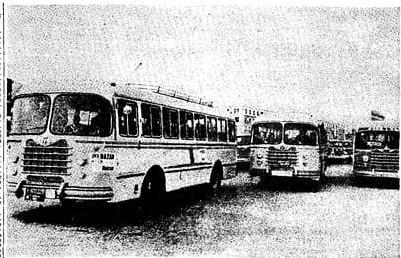 autocars Nazar caravana València 1 abril 1962