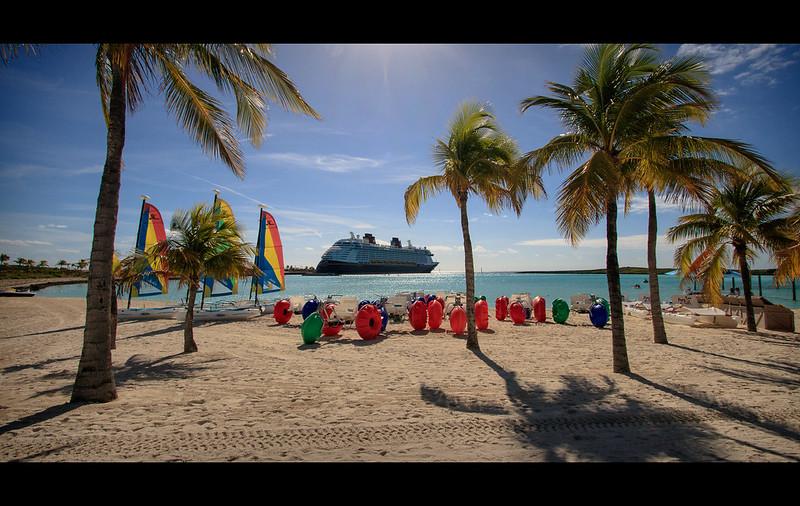 Castaway Cay Water Vessels