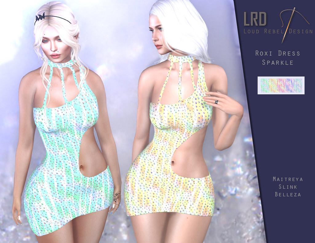 LRD Roxi dress Sparkle - TeleportHub.com Live!