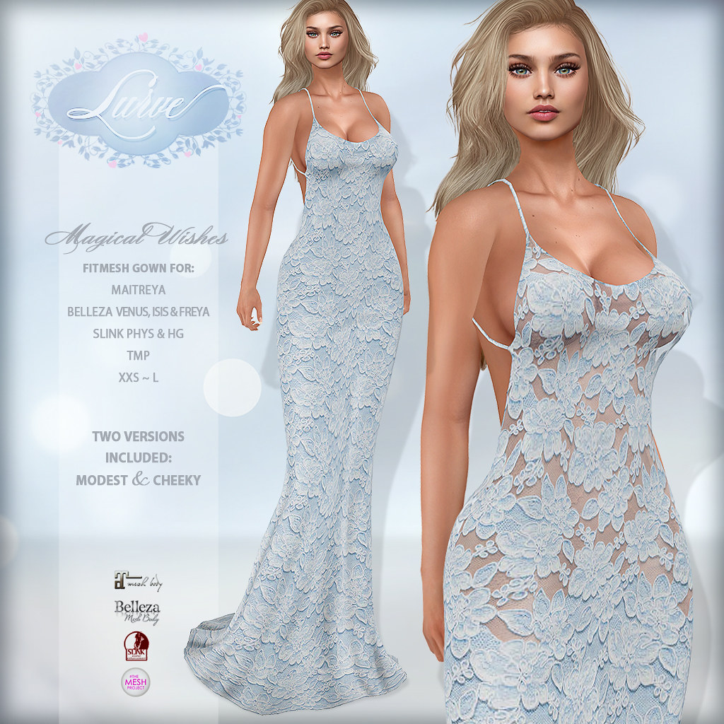 *Lurve* Magical Wishes Formal in Blue - TeleportHub.com Live!