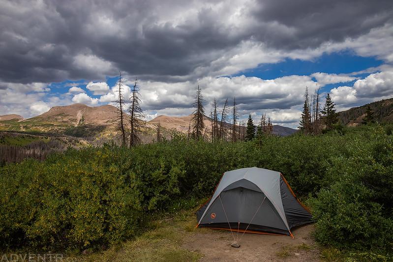 West Ute Lake Camp