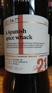 SMWS 54.77 - A Spanish spice whack