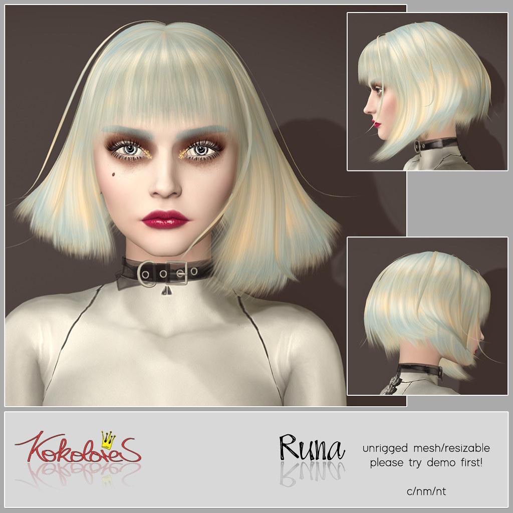 [KoKoLoReS] Hair Runa