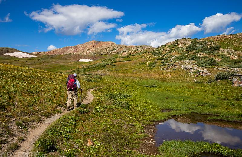 Hiking to Hunchback Pass