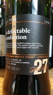 SMWS 77.53 - A delectable confection