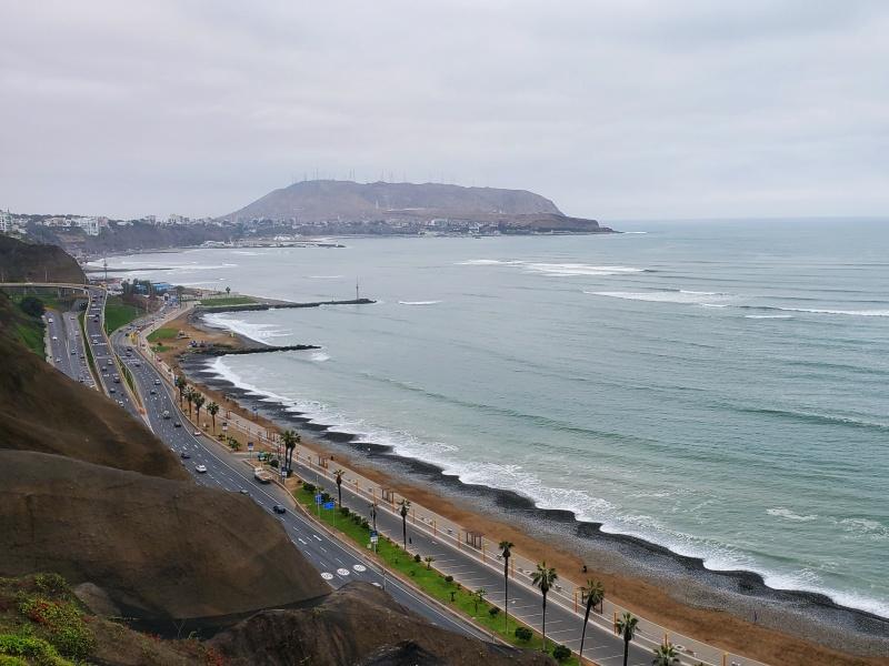 Larcomar Lima Coastline