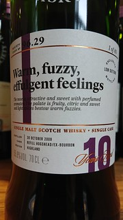 SMWS 96.29 - Warm, fuzzy, effulgent feelings