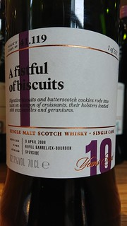 SMWS 41.119 - A fistful of biscuits