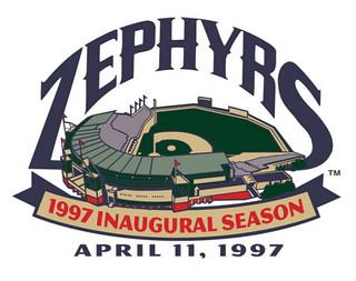 Zephyrs first season in Metairie logo