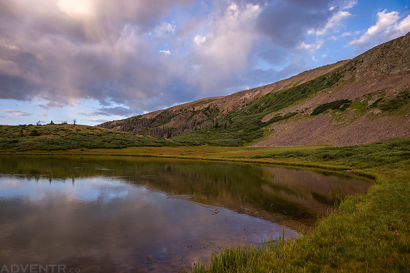 Edge of West Ute Lake