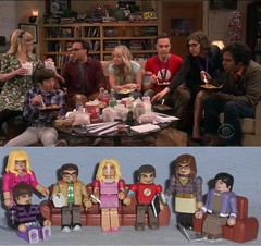 MiniMates - the Big Bang Couch Comparison