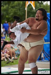 Sumo at the Japanese Festival - Missouri Botanical Garden - No 14