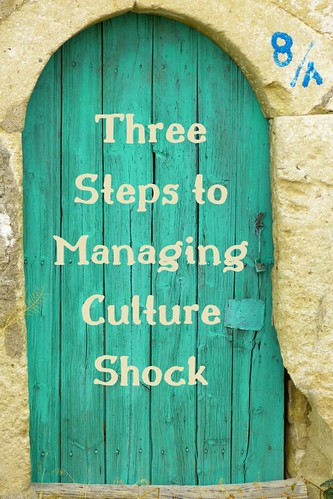 Three Steps to Managing Culture Shock