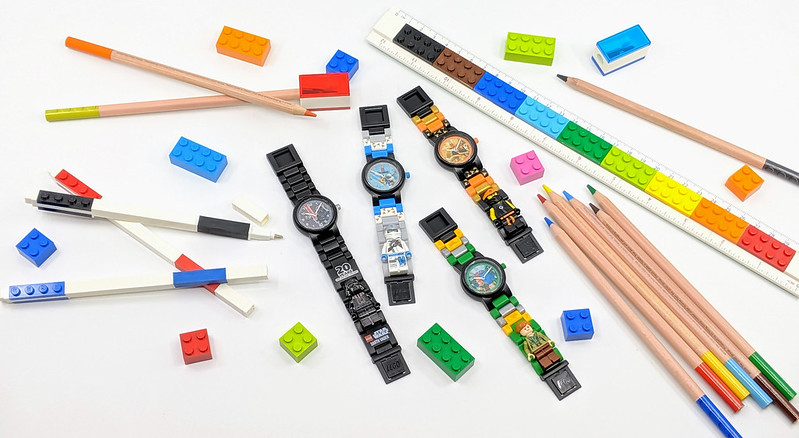 LEGO Watches BTS