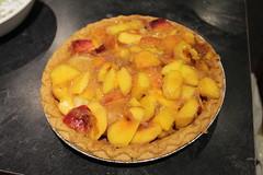 peach-banana pie