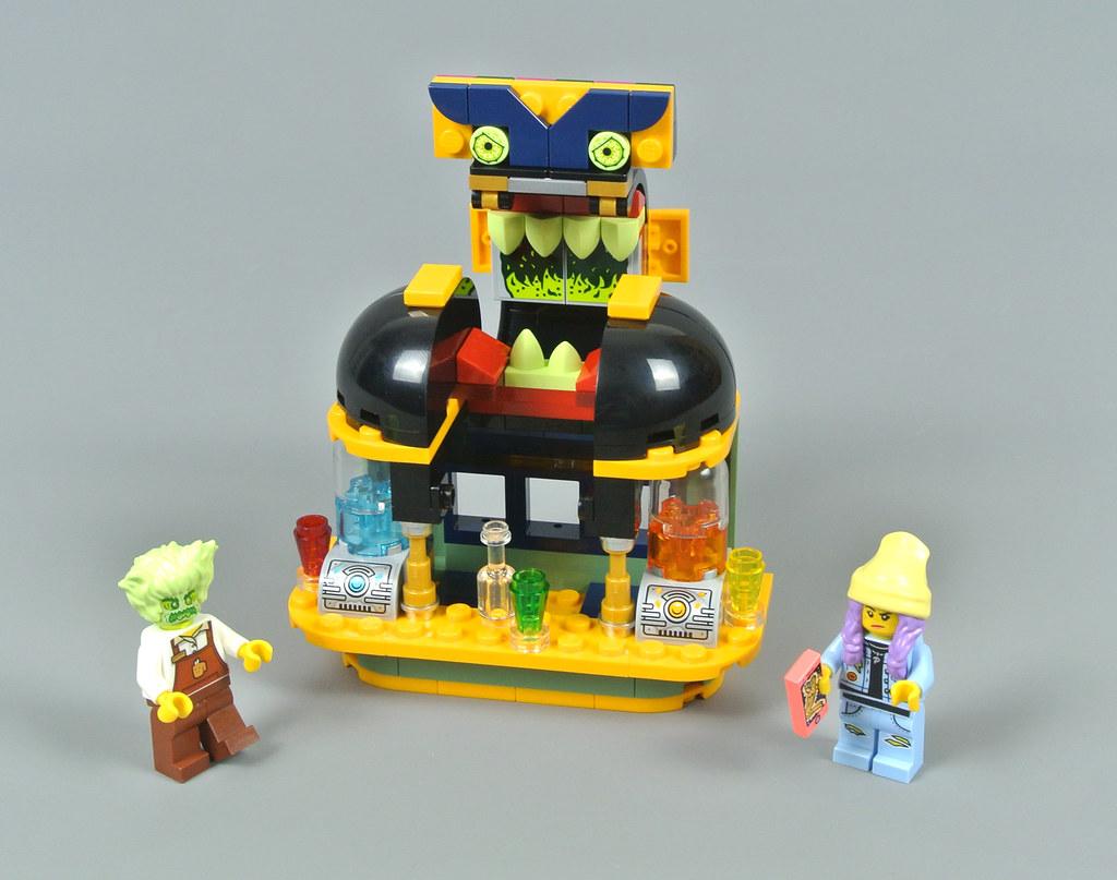 LEGO Hidden Side 40336 Newbury Juice Bar review