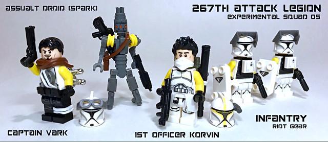 267th Attack Legion - Experimental Squad 05