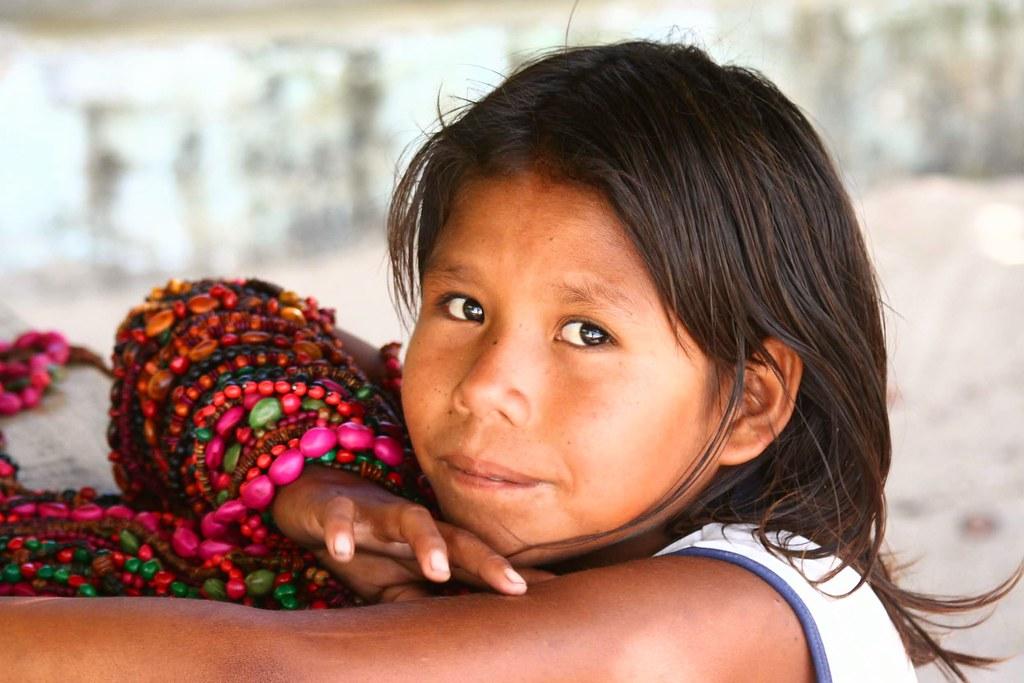 Brazilian Indian. Caraiva, Bahia, Brasil