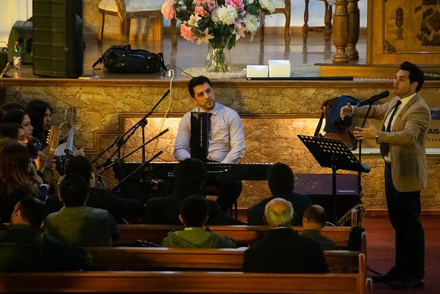 Ensayo de Coro General UNIPECH Villa Alemana en Iglesia Unida Metodista Pentecostal