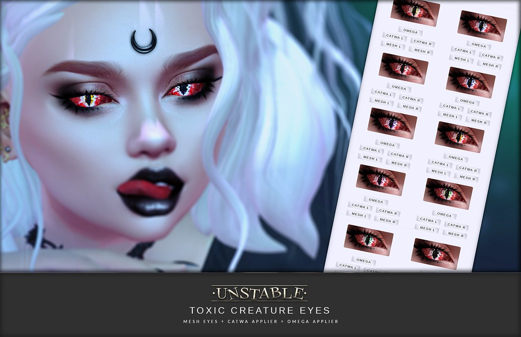 unstable. Toxic Creature Eyes AD