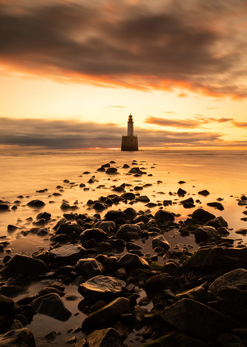aberdeenshire rattrayhead lighthouse scotland sunrise sunset landscape longexposure red sea sky northsea canon canon5d eos