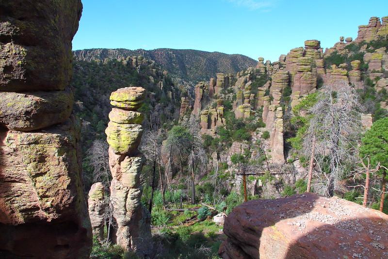 IMG_4550 Pinnacles on Echo Canyon Trail, Chiricahua National Monument