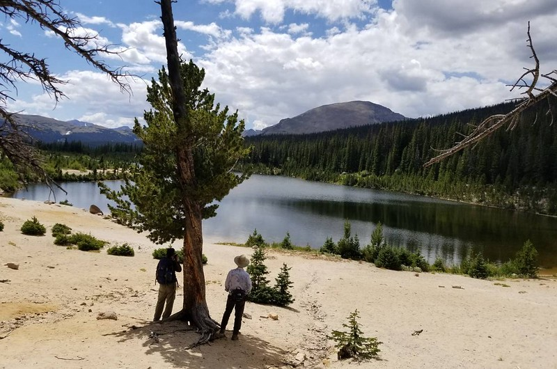 Hiking to Sandbeach Lake, Colorado (taken by Tony) (10)