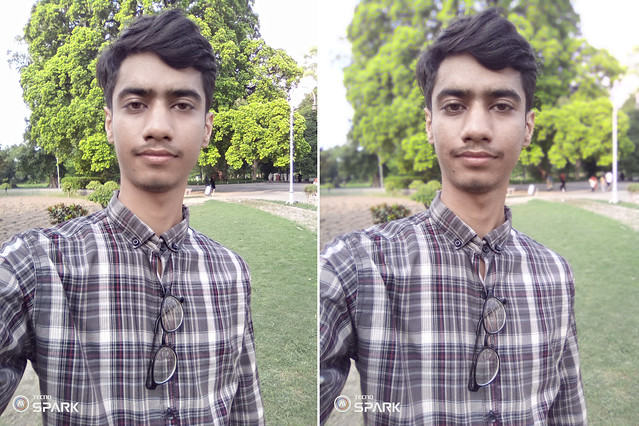 Selfie at Day mobile photography