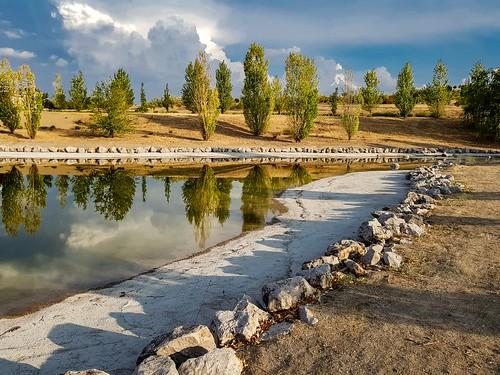 bonsailara1 nwn valdebebas parqueforestal madrid españa spain atardecer sunset lake pond lago laguna