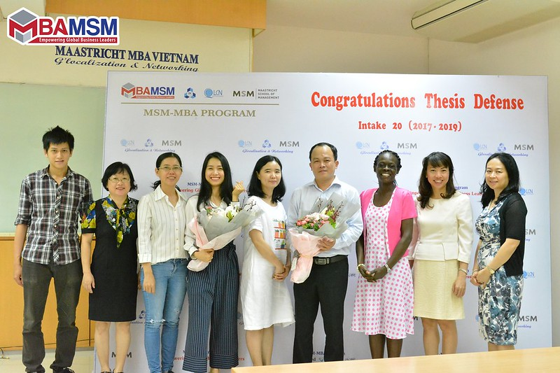 MSM MBA Thesis Defense - Intake 20
