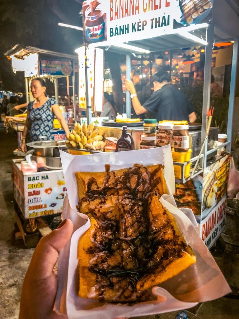 Banana Crepe | Hoi An Street Food