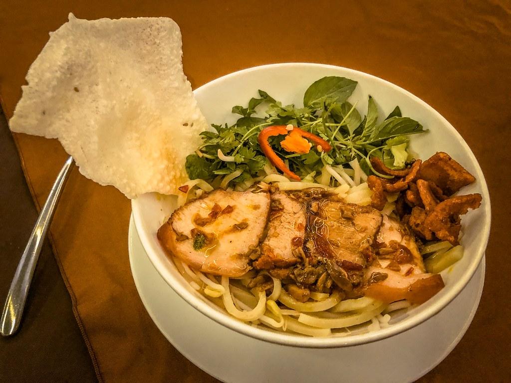 Cao Lau at Morning Glory Restaurant