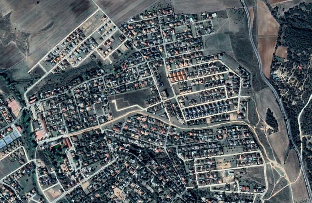 las colinas, guadalajara, están vivas con el sonido de la música, después, urbanismo, planeamiento, urbano, desastre, urbanístico, construcción, rotondas, carretera