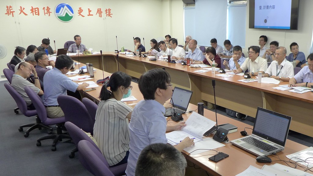 20190903環保署今(3日)進行「台中港外港區擴建計畫(第一期)」二階環評的範疇界定會議。孫文臨攝