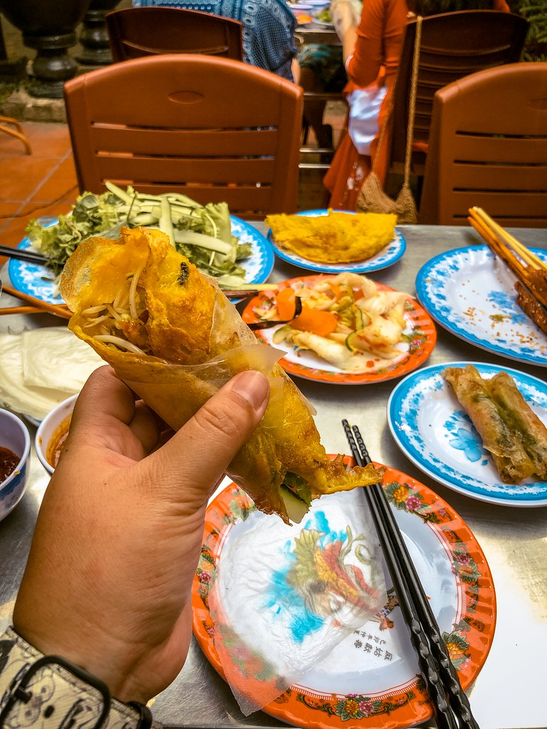 Banh Xeo at Bale Well | Best Food in Hoi An