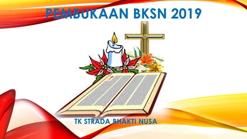 Pembukaan Bulan Kitab Suci Nasional (BKSN) 2019