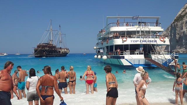 Marooned.....Shipwreck Beach, Zante, Greece.