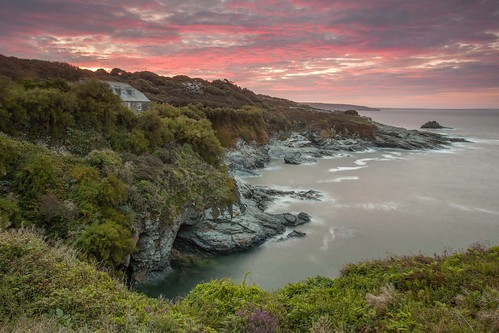 Prussia Cove Dawn