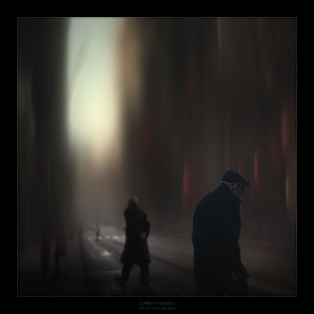 Sombras en la G.V.
