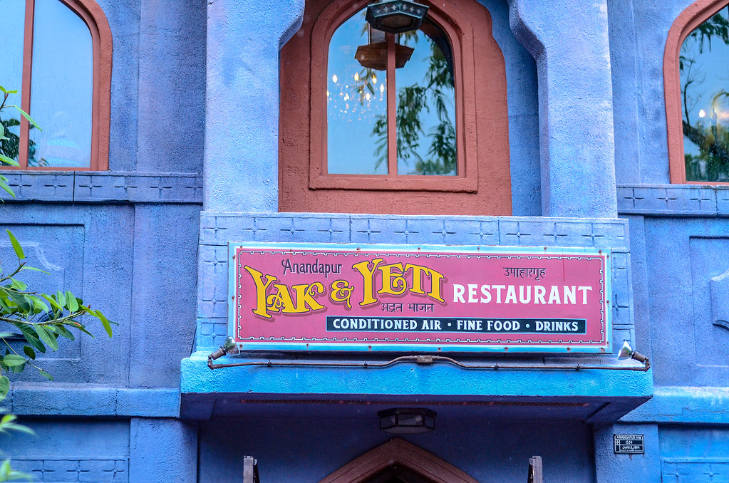 Yak & Yeti sign and building AK