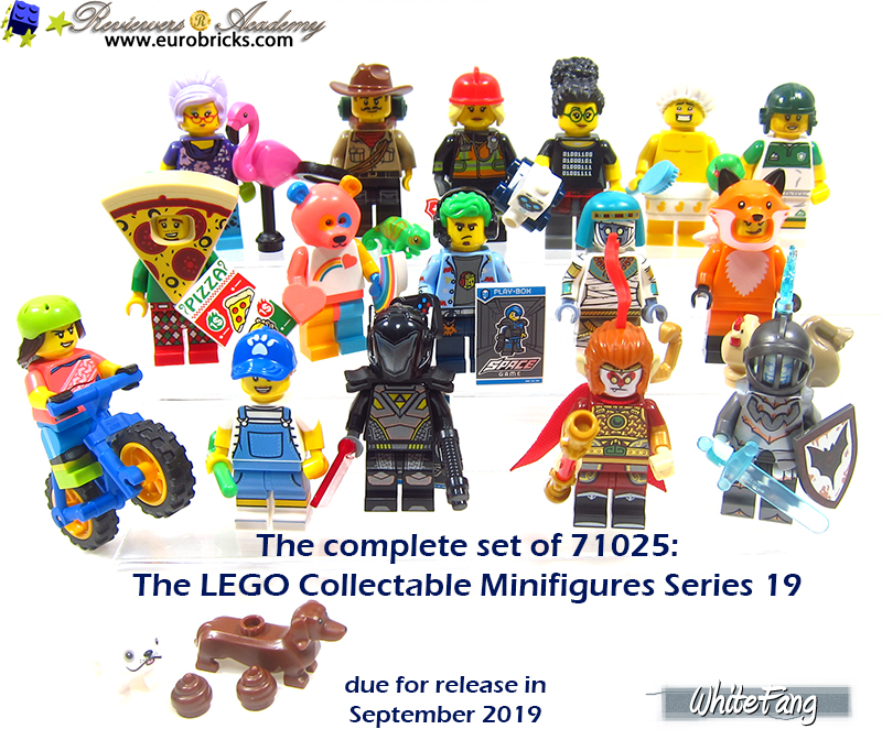 Choose your Minifigure 71025 New BUY 5 FREE 1 LEGO Minifigures Series 19