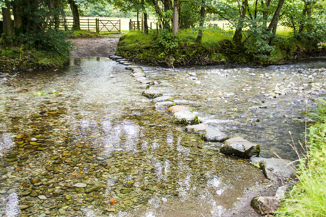 Stepping Stones, Rosthwaite, Cumbria