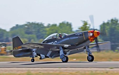 """N.A. P-51D Mustang """"SPEEDBALL ALICE"""" S/n.44-74389 N64824"""