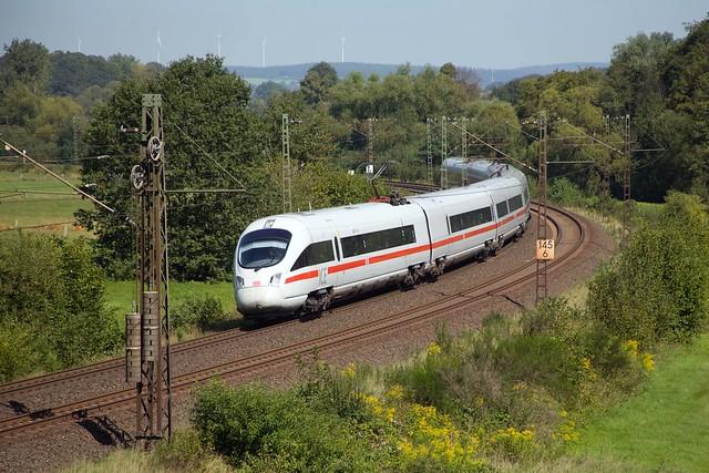 DB ICE-T - ICE 1652 Dresden Hbf - Frankfurt (Main) Hbf  - Hermannspiegel