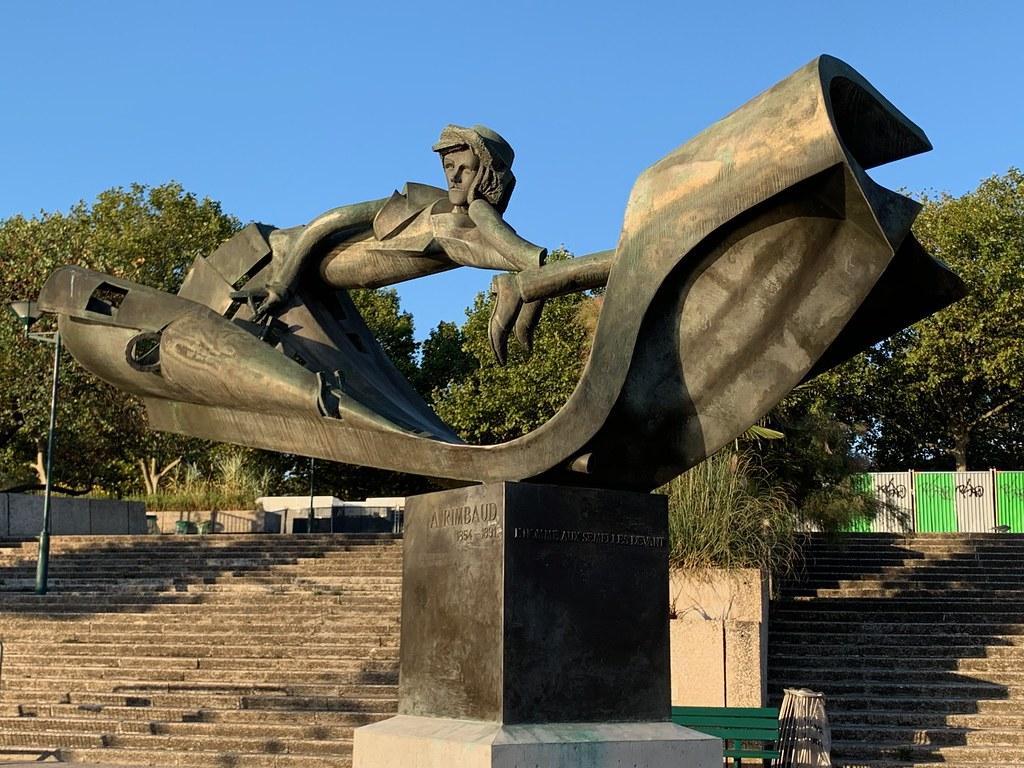 Rimbaud - sculpture