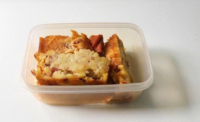 Cheese spaetzle cake - Leftovers / Käsespätzle-Kuchen - Resteverbrauch