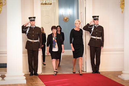 Valsts prezidents Egils Levits akreditē ārvalstu vēstniekus Latvijā