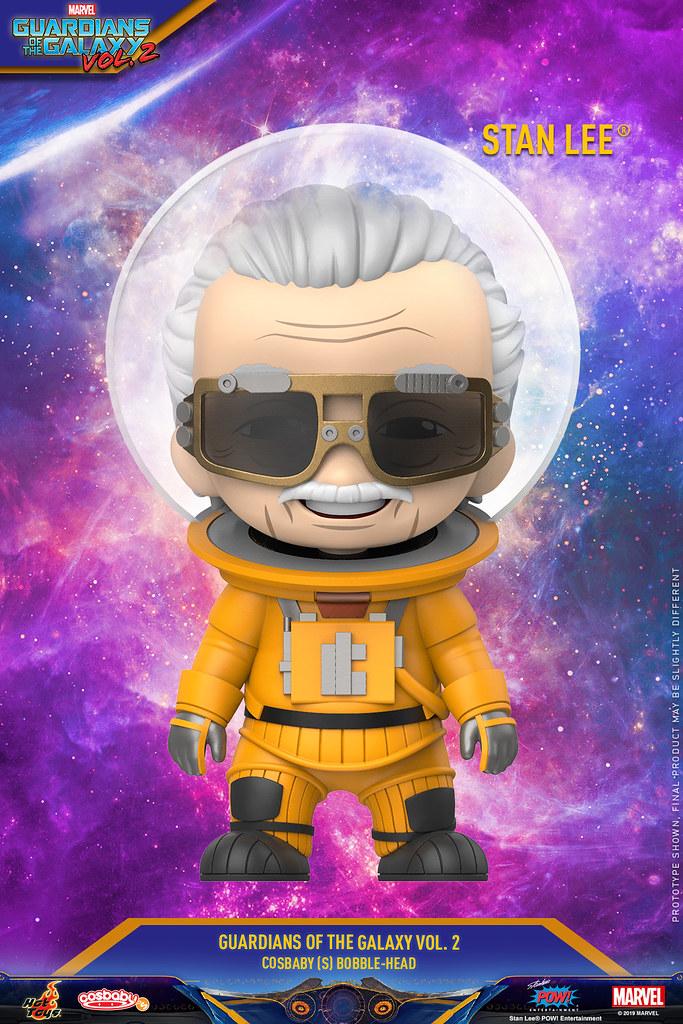 太空衣造型的「MARVEL之父」也在 Cosbaby 系列現身~ Hot Toys – COSB673 –《星際異攻隊2》史丹·李 Stan Lee® Cosbaby (S) Bobble-Head